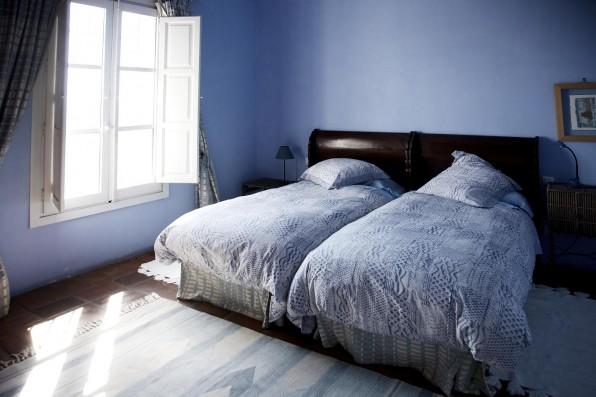 Cortijo Oropesa: Dormitorio/Bedroom 1 Casa Azul