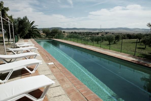 Cortijo Oropesa: Piscina privada / Private pool