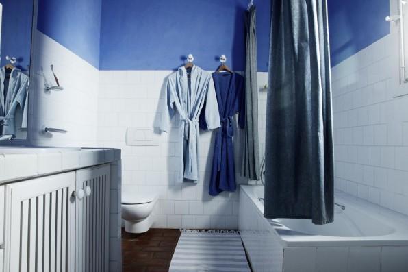 Cortijo Oropesa: Baño/Bathroom Casa Azul