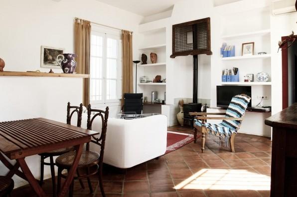 Cortijo Oropesa: Salón / Living room Casa Azul