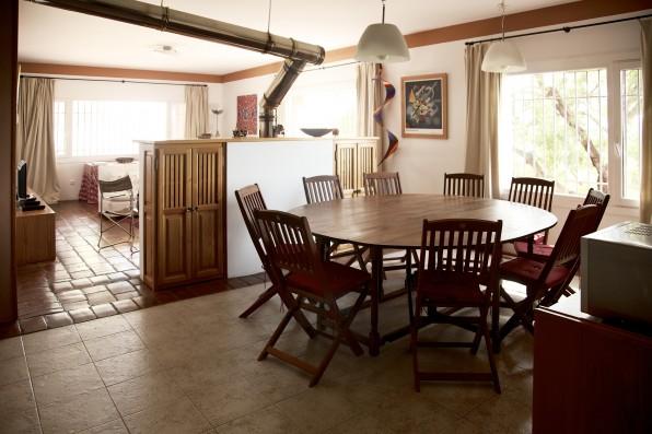 Cortijo Oropesa: Comedor Casa Marrón / Dining area Casa Marrón