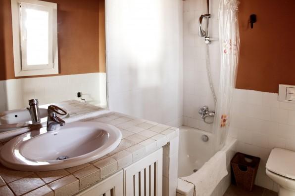 Cortijo Oropesa: Baño/Bathroom Casa Marrón