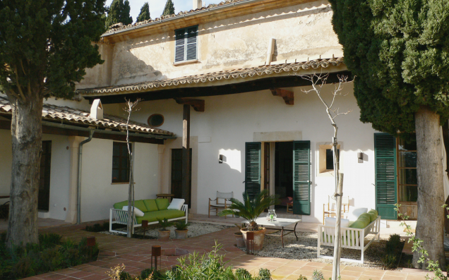 Casa Cartoixa Valldemossa: private garden