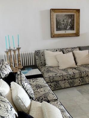 Casa Cartoixa: living room
