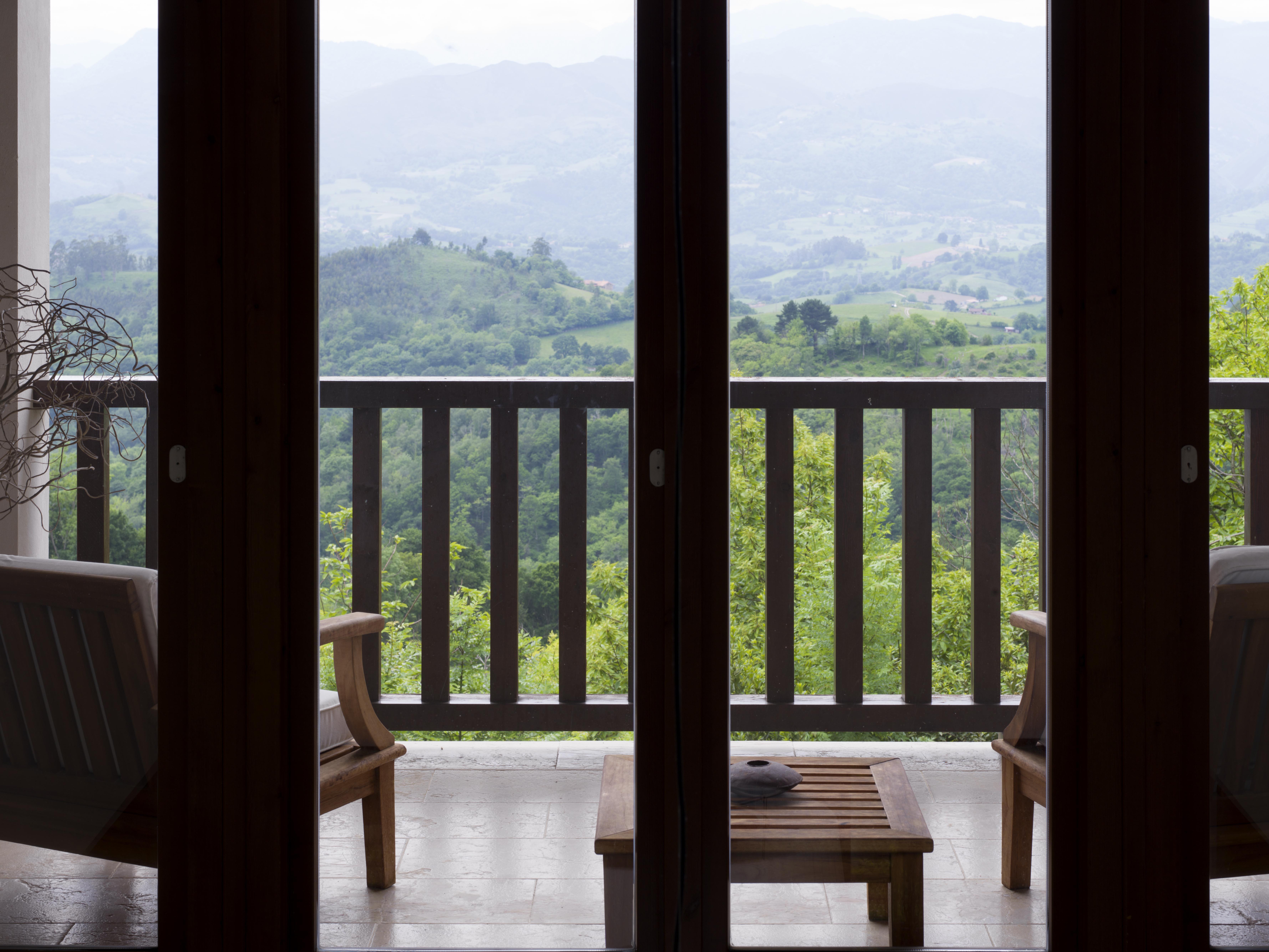 Casa Cofiño: Balcón de los dormitorios principales
