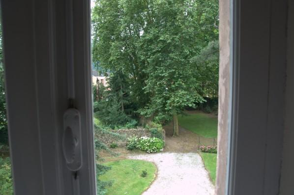 Casa Corrales: view garden