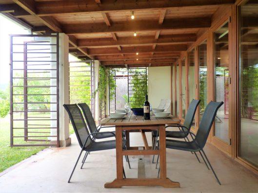 Casa Vejer: Casa Levante terrace