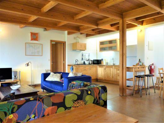 Casa Vejer: Casa Poniente living room