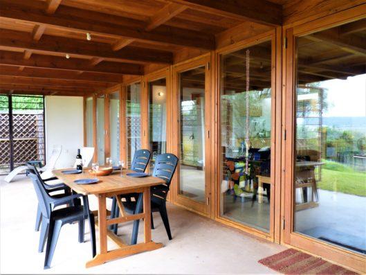 Casa Vejer: Casa Poniente terrace