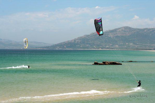 Casa Vejer: kite surfing