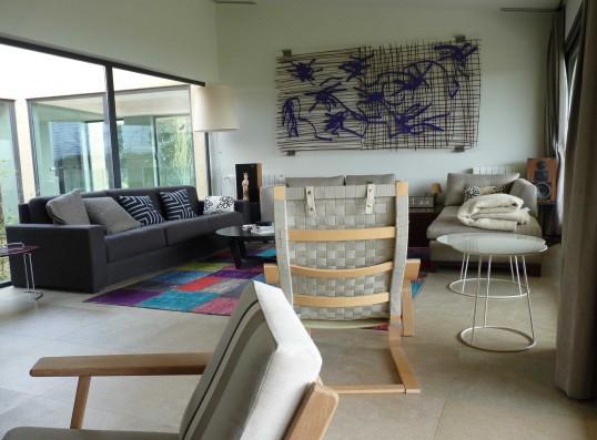 Casa Valdecañas: living room