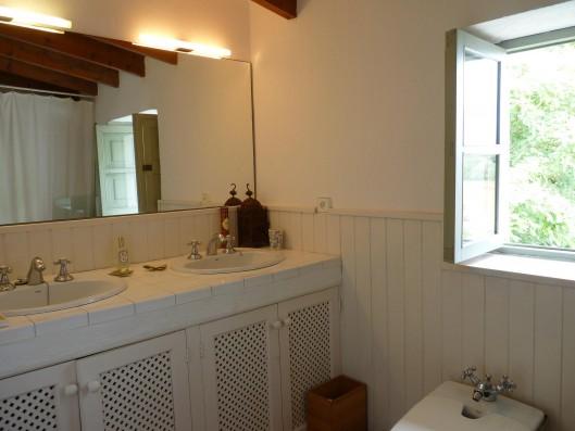 Casa Porreres: Master bathroom