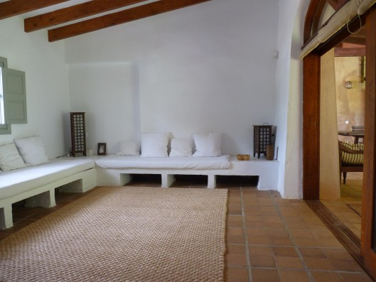 Casa Porreres: Guest house living-room