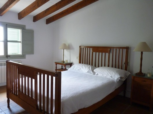 Casa Porreres: Double bedroom with bathroom 1st floor