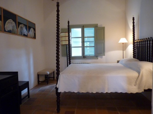 Casa Porreres: Bedroom with bathroom ground floor