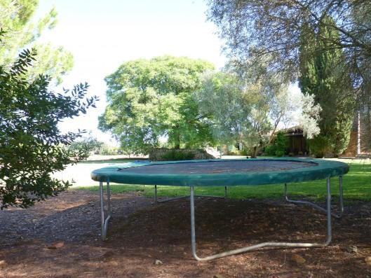 Casa Porreres: Trampoline