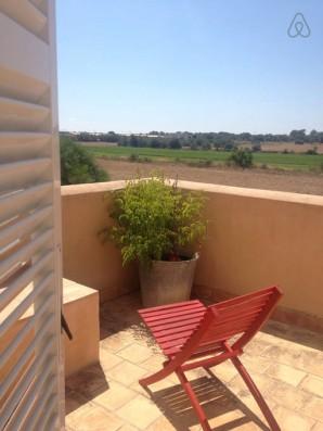 Casa Campos: balcón dormitorio 1