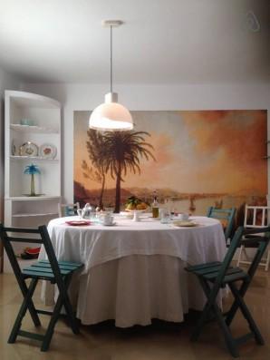 Casa Campos: comedor cocina