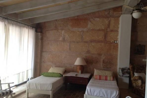 Casa Campos: bedroom old mill