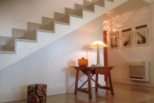 Casa Campos: escalera