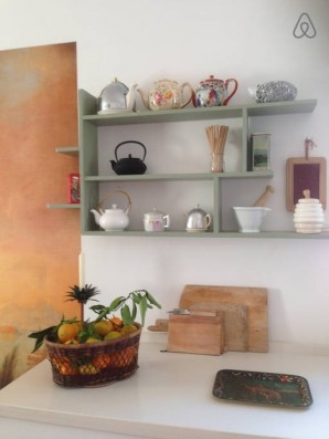 Casa Campos: kitchen