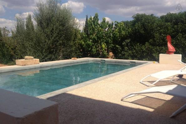 Casa Campos: piscina