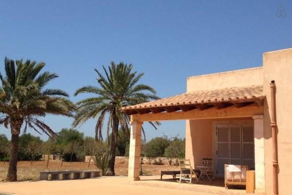 Casa Campos: terraza