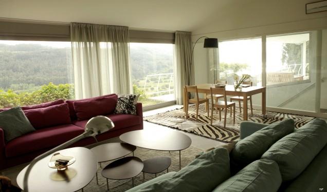 Casa Ceranzos: Living-room with dining area