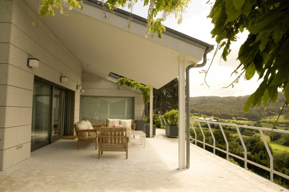 Casa Ceranzos: Terrace with view countryside