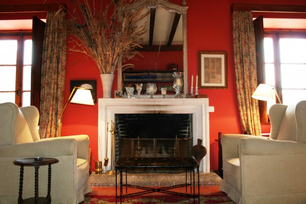 Casa Baltanás: living room