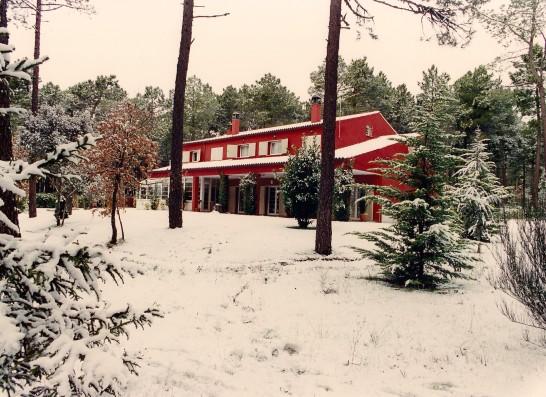 Casa Ciiudad Ducal: Casa en invierno