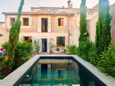 Casa Valldemossa: casa vacacional con piscina en Valldemossa