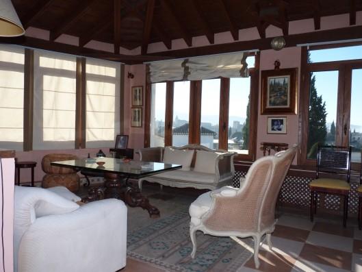 Casa Albaicin: tower sitting room