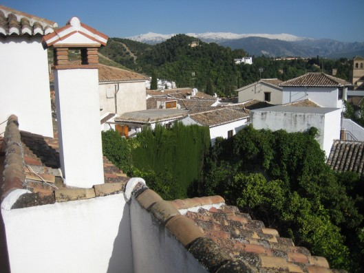 Casa Albaicin: view from roof terrace