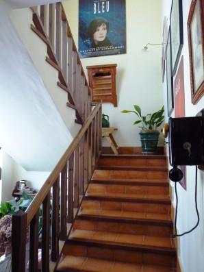 Casa Ciiudad Ducal: escalera