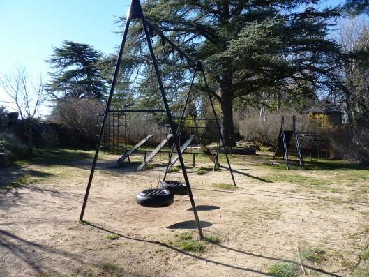 Casa Ciudad Ducal: community playgrounds
