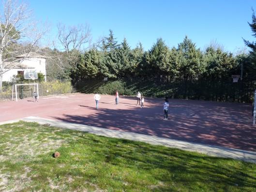Casa Ciiudad Ducal: pista de baloncesto