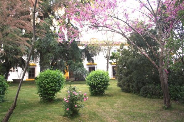Casa Real de la Jara: casa y jardín