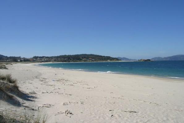 Casa PedraLobo: Playa de Aguieira a 1 km.
