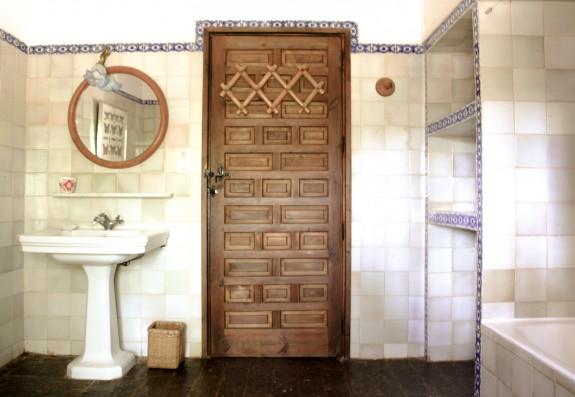 Casa Real de la Jara: baño