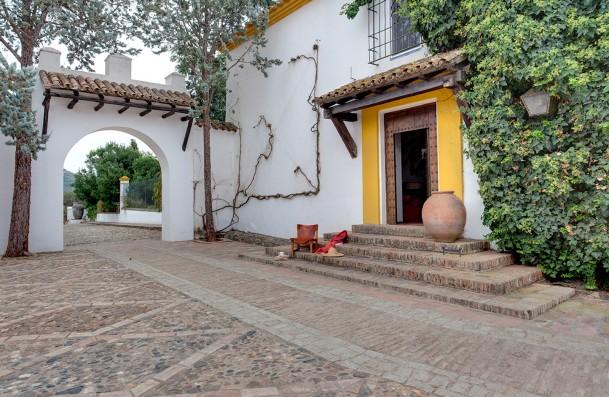 Casa Real de la Jara: entrada principal