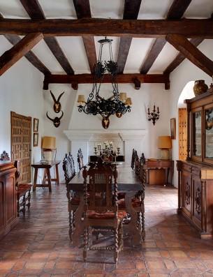 Casa Real de la Jara: salón
