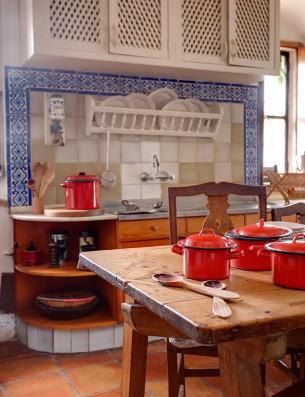 Casa Real de la Jara: cocina