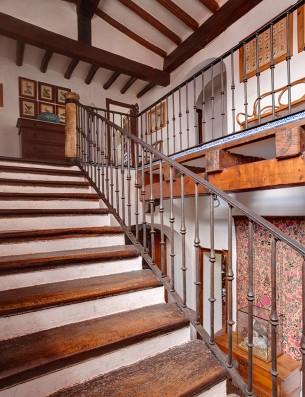 Casa Real de la Jara: escalera