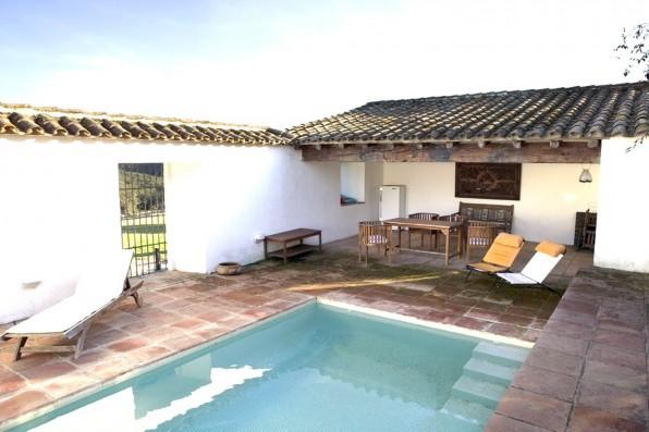 Casa Real de la Jara: piscina