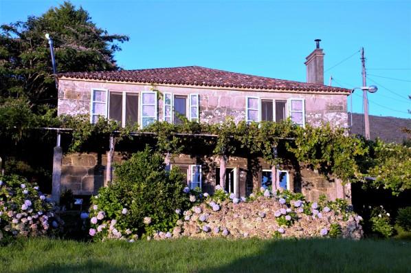 Casa PedraLobo: casa y jardín