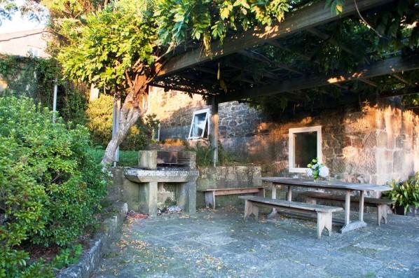 Casa Pedralobo: outdoor dining area