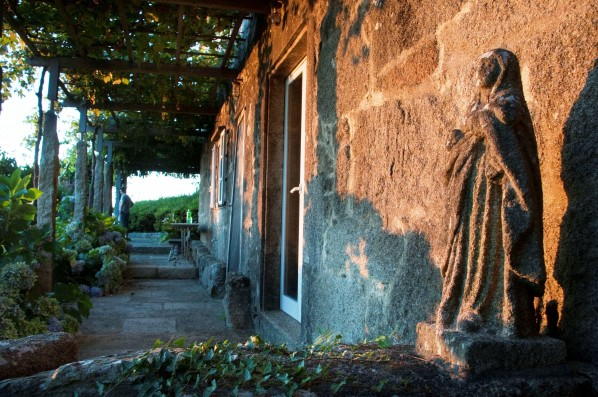 Casa Pedralobo: covered terrace