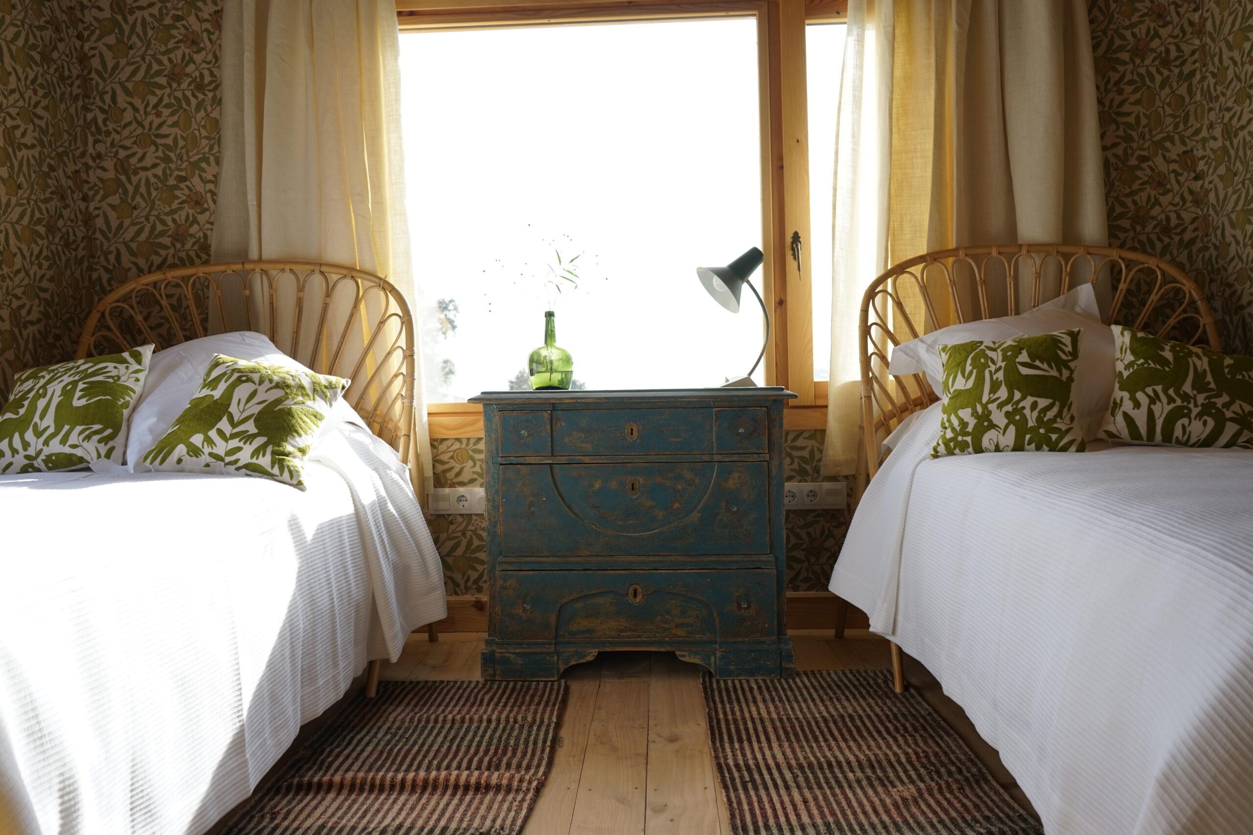 Casa Las Encinas dormitorio 2