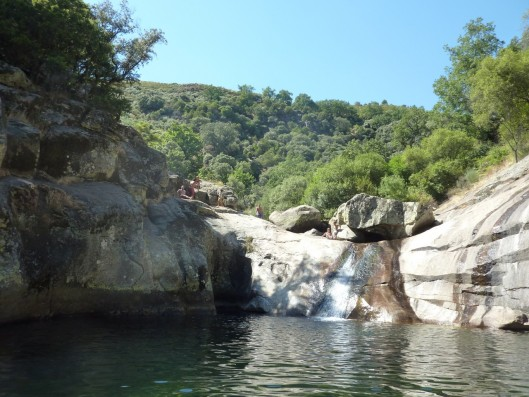 Casa Naval: rock pools in mountain rivers Gredos